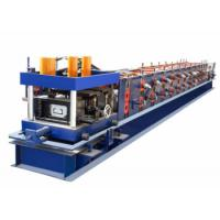 Wholesale High Efficiency CZ Purlin Roll Forming Machine PLC Control System With Servo Motor from china suppliers