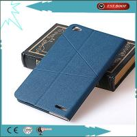 China Bule filp Pu Waterproof Leather Cell Phone Cases For Huawei Honor X1/7D-501u on sale