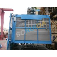 Buy cheap 2000 kg Rack And Pinion Hoists with Lifting Height 250m , 12 - 38 Passenger from wholesalers
