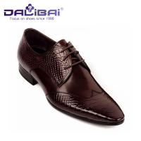 Wholesale Mens Leather Dress Shoes Italian Casual Formal Work Shoes With Pointed Toe from china suppliers