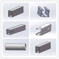 Wholesale Hot Dip Galvanized Steel Profile Cold Bend Solar Mount Brace Support Framing from china suppliers