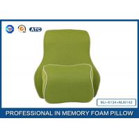 Wholesale Deluxe Filling Ventilated Foam Car Neck Pillow and Memory Foam Back Support Cushion With Adjustable Strap from china suppliers