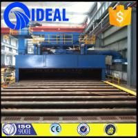 descaling or stripping use shot blasting machine pretreatment line for sale
