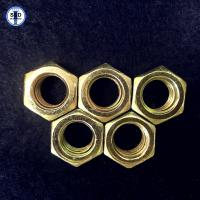 Wholesale Hex Nuts SAE J995 Gr8 Zinc Yellow from china suppliers