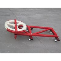 Wholesale ODM Steel Red and blue Cable Trolley for Construction Hoist Spare Parts from china suppliers