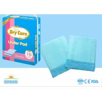 Buy cheap Sanitary Disposable Bed Pads Water Resistant For Hospital , Non - Stimulated from wholesalers