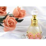 China Custom Dubai Arabian Colorful Perfume Bottles Wind Metal Oil Pink Color for sale