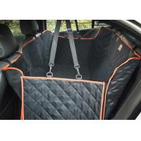 Wholesale Large Back Seat Cover For Dogs , Trucks / SUVs Dog Car Seat Protector from china suppliers
