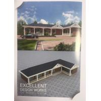 Wholesale C Frame Structure Light Prefab Steel House One Storey White Color Ready Made from china suppliers