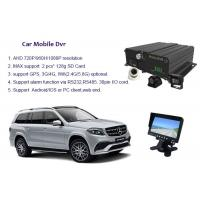China Surveillance SD Card Mobile DVR 4 Channel Car Dvr Recorder With G Sensor on sale