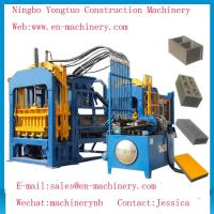 China Economical PLC Control System automatic 4-15 Cement Concrete Block Making Machine on sale