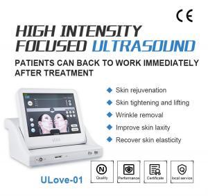 Quality Best Anti Wrinkle SMAS Ultrasonic HIFU Machine with 10000 Shots / High Intensity for sale