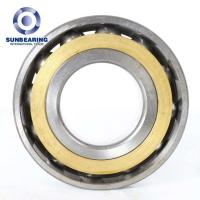 Wholesale SUNBEARING Angular Contact Ball Bearing 7204C Silver 20*47*14mm Chrome Steel GCR15 from china suppliers