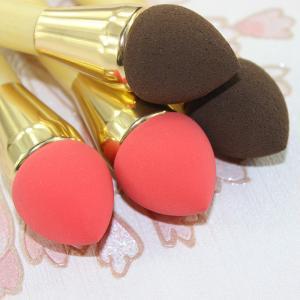 China Eyeliner Portable small retractable Blush Brush Loose Powder Makeup on sale