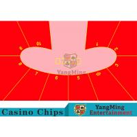 Wholesale 10P Pod Shape Red Color Dice Table Layout, Custom Layout Of Roulette Table from china suppliers