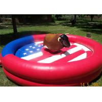Wholesale Customized Inflatable Interactive Games , Rent Inflatable Rodeo Bull from china suppliers