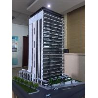 Wholesale 1/75 Scale Architectural Model Making Materials, Public Building Model With White Light from china suppliers