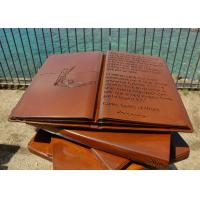 Wholesale Delicate Outdoor Metal Sculpture Books For Garden / Public Decoration from china suppliers