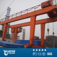 China YT 50 ton U-type electric mobile double girder hook gantry crane for sale on sale