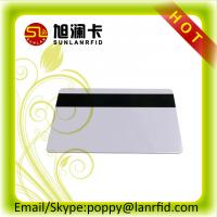 China High Frequency 13.56MHz MF 1K 4K Contactless RFID Card with Magnetic Strip on sale