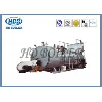 China Automatic Steam Hot Water Boiler Fire Tube With Gas Fired / Oil Fired on sale