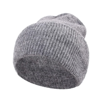 Wholesale Double Side Unisex Winter Soft Warm Knitted Beanie Cap from china suppliers