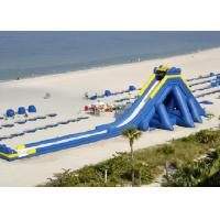 Wholesale Customized Commercial Inflatable Water Slides , Blue Hippo Giant Inflatable Slide For Adult from china suppliers