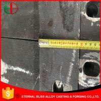 Wholesale HBW5555 XCr13 High Cr Alloy Iron Wear-resistant Grinding Liners for Cement Mill EB11039 from china suppliers