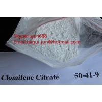 Wholesale Legal Oral Muscle Building Anti Estrogen Steroids Clomifene Citrate Powder Source 50-41-9 Clomid from china suppliers