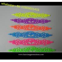new fashion style Tatto silicone wristband/ bracelet as your size and design for sale