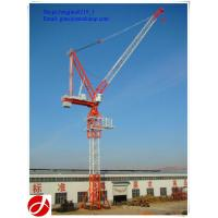 Wholesale china good manufacturer QTD125 luffing jib 10t hydraulic tower cranes for sale from china suppliers