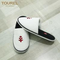 Wholesale personalized logo disposable hotel slipper for men and women from china suppliers