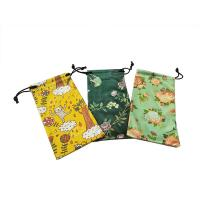 Wholesale Natural Digital Pringting Glasses Pouch Case 100% Polyester Eco-friendly from china suppliers