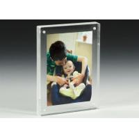 Wholesale Clear Acrylic OEM Factory Custom Picture Frames With Magnetics from china suppliers