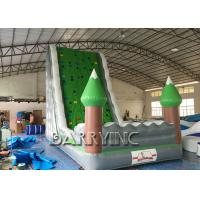 Wholesale Jungle Green Kids Inflatable Climbing Wall For Amusement Inflatable Play Equipment from china suppliers