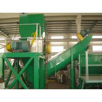 Waste Plastic Film Recycling Machine , PP PE Film Washing Line Hot Air Drying for sale