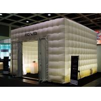 Emergency Shelter Inflatable Buildings With PVC Tarp / Lighting Inflatable for sale