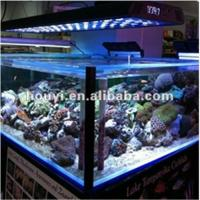 Wholesale high power 64x3w actual 192watt led aquarium light for coral from china suppliers