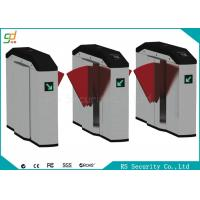 Wholesale Smart Retractable Flap Barrier Gate Turnstile Security Subway Wing Gate from china suppliers