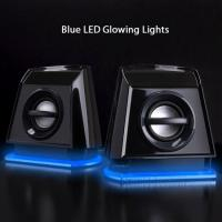 Wholesale Adjustable volum control 2.0-channel LED light Speaker with USB powered from china suppliers