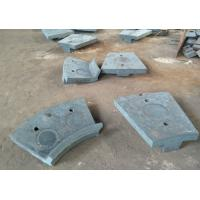 Buy cheap Cr-Mo Alloy Steel Casting of Discharge End Liners  for Ball Mill Parts from wholesalers