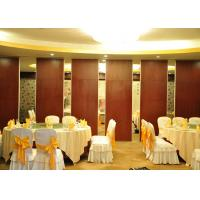 Quality Conference Room Sound Proof Partitions Wall Paper Partition For Banquet Hall for sale