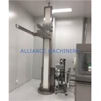 Buy cheap BL Bin Lifter Stationary Pharmaceutical Industry Equipment Stationary Hoist Bin Lifting Equipment Discharge Column from wholesalers