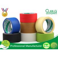 Wholesale High Tmperature Car Masking Tape , Adhesive Pinstripe Masking Tape  22.9m - 1000m from china suppliers