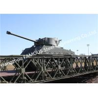 China Modern Designed Military Style Temporary Military Steel Structure Bailey Bridge For Army Usage for sale