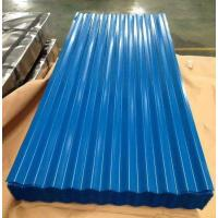 Wholesale Color coated Corrugated Roofing Sheets Steel Building Roof Tiles PPGI Roofing from china suppliers