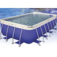 Wholesale House ' s Backyard Easy Intex Pool , 0.9mm Plato PVC Tarpaulin Family Swimming Pool from china suppliers