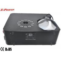 Wholesale 1500 Watt Professional LED Up Fog Machine DMX512 Smoke Machine With 12 * 3W RGB LED    X-01 from china suppliers
