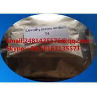 Wholesale 25416-65-3 Pharmaceutical Raw Materials Levothyroxine Sodium T4 For Weight Loss from china suppliers