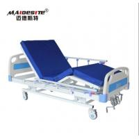 Wholesale M08 Three Functions Manual Hospital Bed , Adjustable Patient Bed Load Capacity 250kg from china suppliers